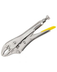 Stanley Curved Jaw Locking Pliers 178mm (7in) - STA084808
