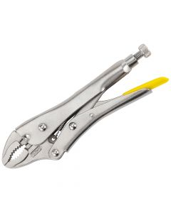 Stanley Curved Jaw Locking Pliers 225mm (9in) - STA084809