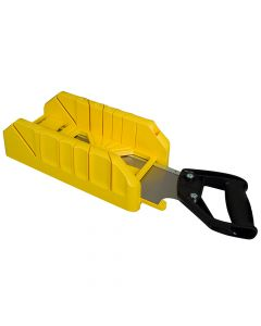 Stanley Saw Storage Mitre Box with Saw - STA119800