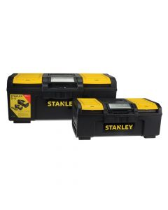 Stanley One Touch DIY Toolbox 2 Pack 1 x 41cm (16in) & 1 x 60cm (24in) - STA171184