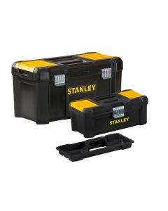 Stanley Essential Toolbox Bonus Pack 32cm (12.1/2in) & 48cm (19in) - STA175772