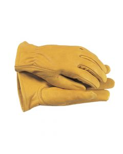 Town & Country Premium Leather Gloves Ladies' - Medium (Yellow) - T/CTGL105M