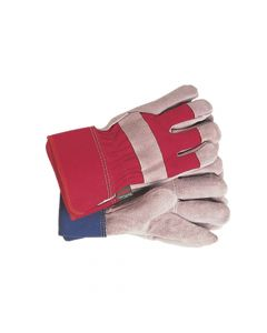 Town & Country General Purpose Navy/Red Gloves Ladies' - Medium - T/CTGL106M