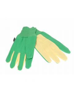 Town & Country The Gardener Gloves Green/Burgundy - T/CTGL209