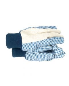 Town & Country Men's Dotted Canvas Gloves - T/CTGL404