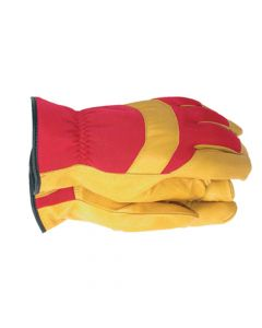 Town & Country Men's Deluxe Leather Palm Gloves - Medium - T/CTGL420