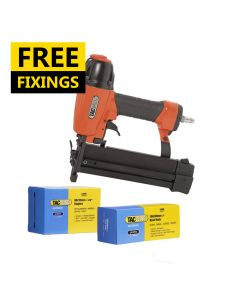 Tacwise 18G Combi Air Stapler/Nailer comes with 5,000 Staples and 5,000 Brad Nails