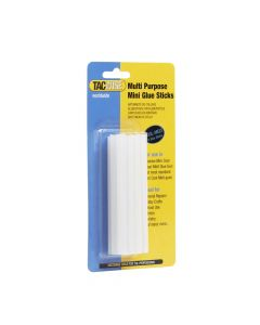 Tacwise Clear Cool Melt Mini Glue Sticks 7.4 x 100mm (12 Pack) - 0476