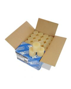 Tacwise Tan Hot Melt Glue Slugs 10kg 43mm (160 Pack) - 1013