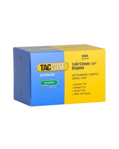 Tacwise Type 140 - 12mm Staples (5,000 Pack) - 0343