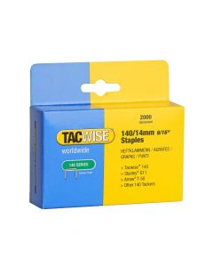 Tacwise Type 140 - 14mm Staples (2,000 Pack) - 0349