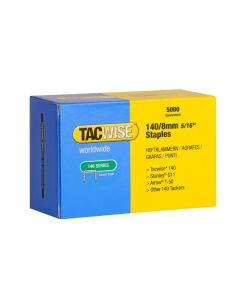 Tacwise Type 140 - 8mm Staples (5,000 Pack) - 0341