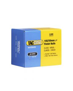 Tacwise Type 16G - 50mm Finish Nails (2,500 Pack) - 0298