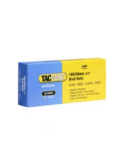 Tacwise Type 18G - 20mm Brad Nails (5,000 Pack) - 0395