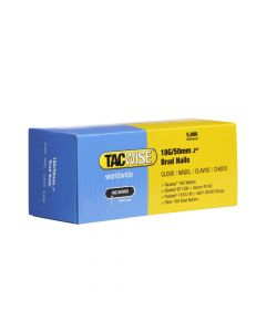 Tacwise Type 18G - 50mm Brad Nails (5,000 Pack) - 0401