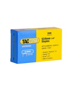 Tacwise Type 53 - 6mm Staples (5,000 pack) - 0331