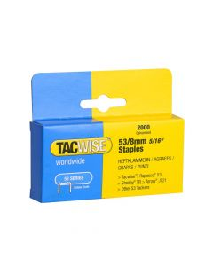 Tacwise Type 53 - 8mm Staples (2,000 pack) - 0335