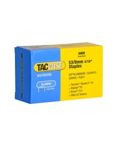 Tacwise Type 53 - 8mm Staples (5,000 pack) - 0332