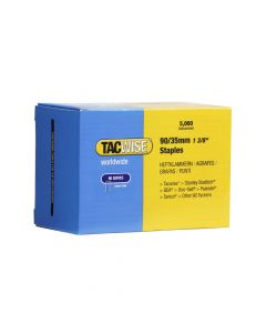 Tacwise Type 90 - 35mm Narrow Crown Staples (5,000 Pack) - 0310