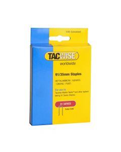 Tacwise Type 91 - 35mm Staples (1,000 Pack) - 0746
