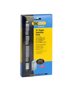 Tacwise Type 91 - Staple Selection Pack (2,800 Mixed Pack) - 0204
