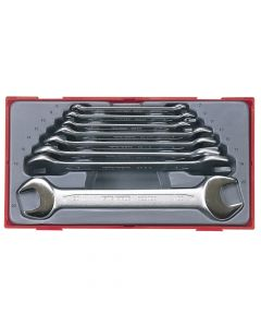 Teng 8 Piece Metric Open End Spanner Set - TENTT6208