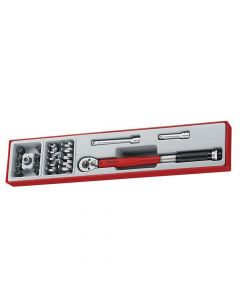 Teng 3/8in Drive Torque Wrench Set, 22 Piece - TENTTX3892