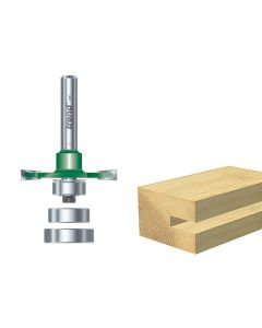 Trend C152 x 1/4 TCT Bearing Guided Biscuit Jointer 4.0 x 37.2mm - TREC15214TC