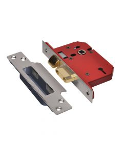 UNION StrongBOLT 2203S 3 Lever Mortice Sashlock Stainless Steel 68mm 2.5in Visi - UNNY2203SS25