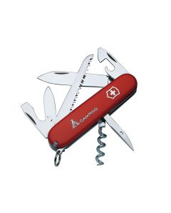 Victorinox Camper Swiss Army Knife Red Blister Pack - VICCAMPB