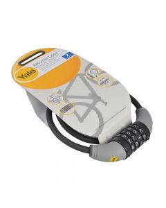 Yale YCCL1 Combination Cable Bike Lock 60cm x 8mm - YALYCCL1860