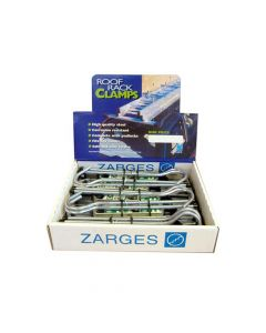 Zarges Roof Rack Clamps Display (5 Pairs) - ZAR40980PDIS
