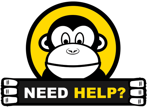 Need Help? We're here to help!