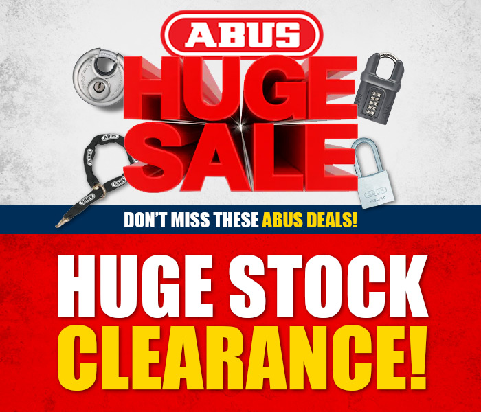 Huge ABUS Stock Clearance