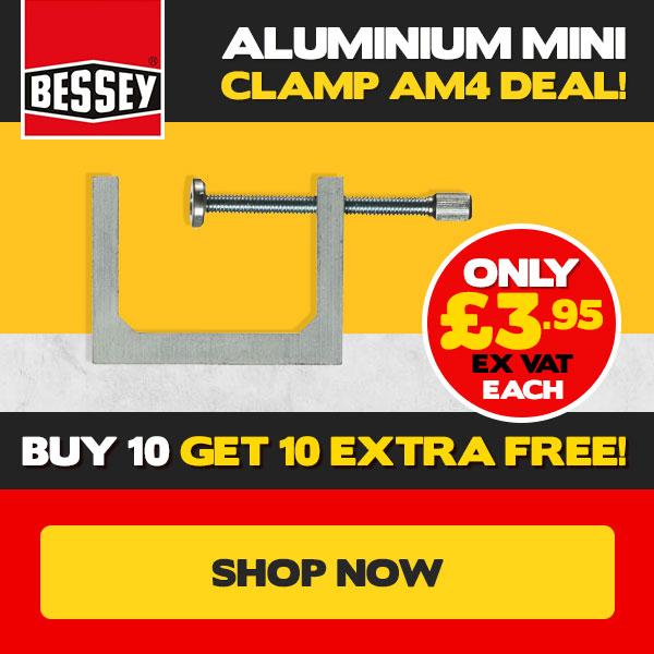 Bessey Aluminium Mini Clamp AM4 Deal!