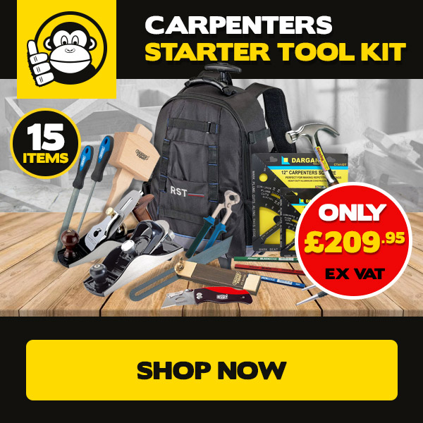 ToolChimp Carpenters Starter Tool Kit