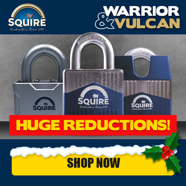 Squire Warrior & Vulcan Ranges - Now Reduced!