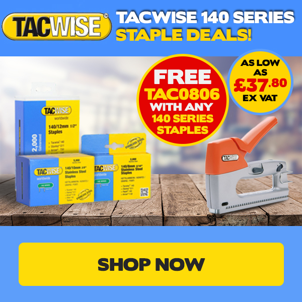 Tacwise 140 Series Deals!