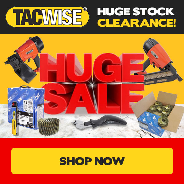Tacwise Stock Clearance!