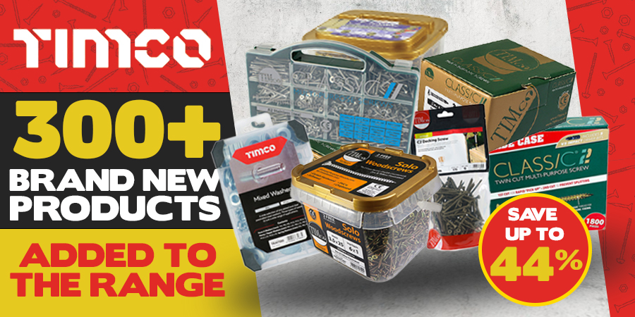 Brand New Timco Products - Available Now