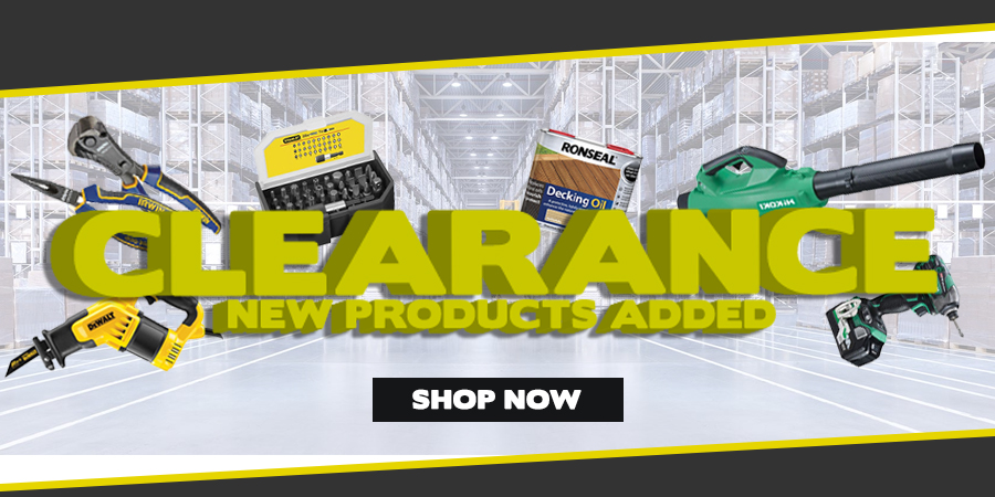 New Clearance Products - Available Now!