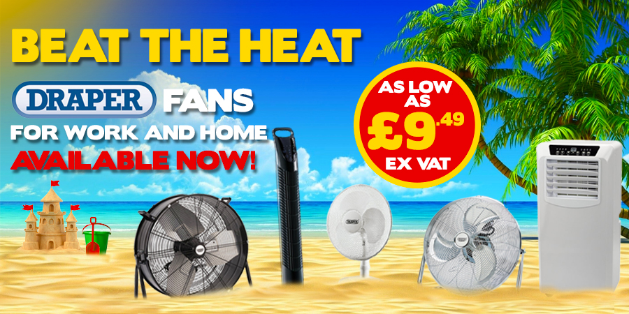 Draper - Beat The Heat With These Fans!
