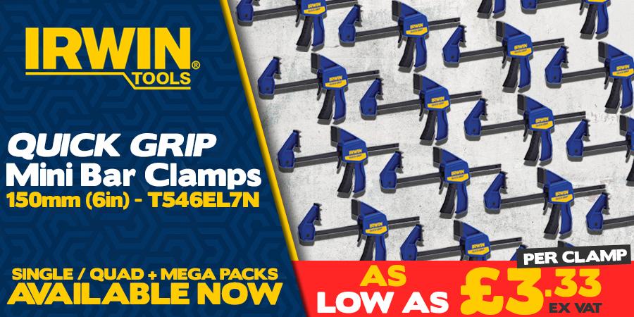 Irwin Quick Grip Clamps Bundles!