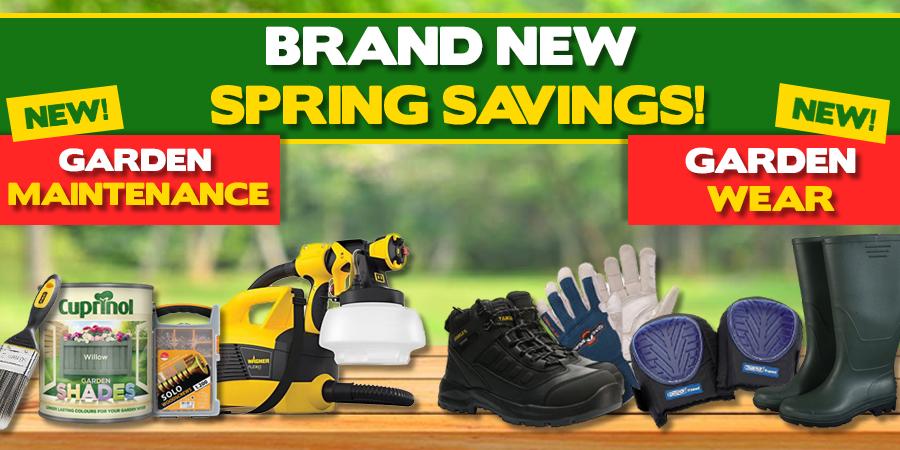 Brand New - Spring Savings!